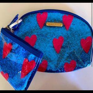 2 Victoria's Secret zip bag/purse/pouch